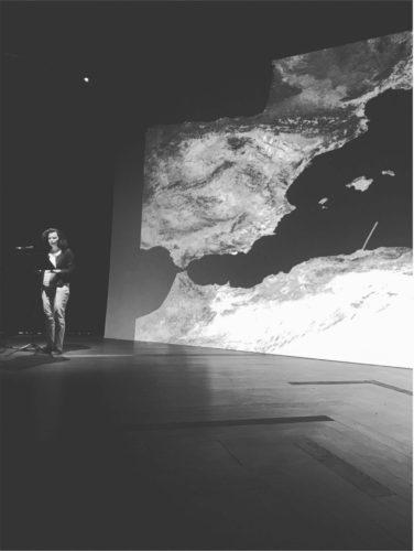 Laure Verdon, Rencontres méditerranéennes de TELEMMe, Mucem, 15/06/2018. Photographie : R. Facchini (AMU-TELEMMe)